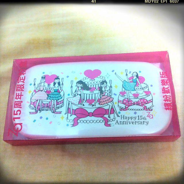 全新🎊ZA粉盒 粉餅盒 15週年紀念版