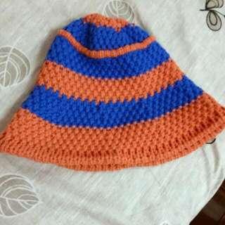 (含運)編織漁夫帽(可加購)