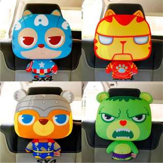Avengers humour Novelty Car Pillow Cushion Head Rest Accessories