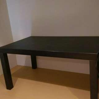 搬家出清❤兩張黑色IKEA黑色小桌