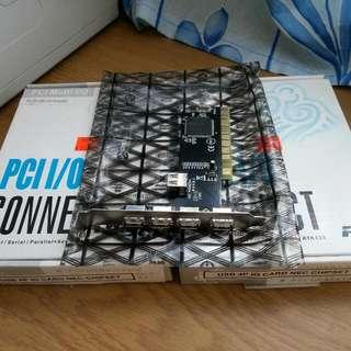 USB 2.0 Ports PCI Card