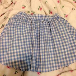 Pazzo格紋褲裙