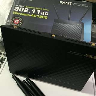 Asus RT-AC68U Wireless Dual-Band Gigabit Router