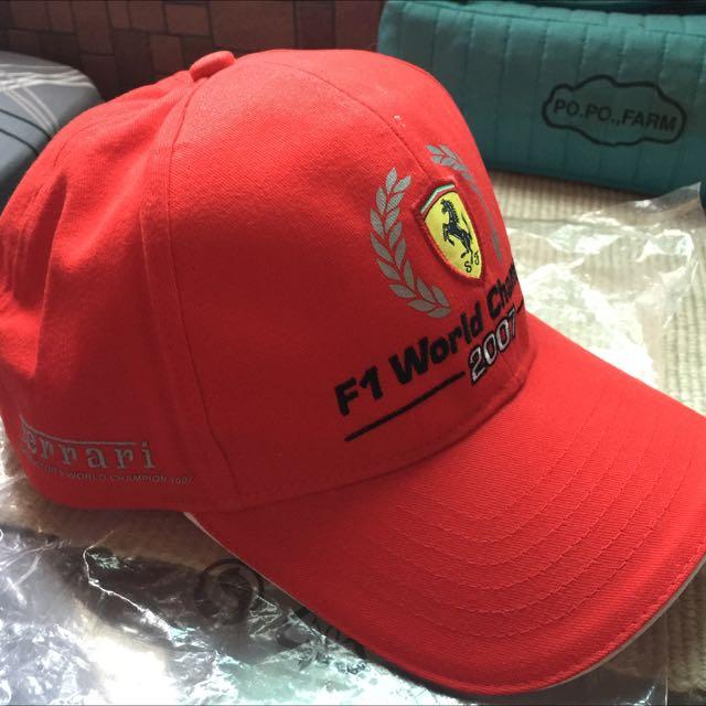 法拉利賽車1號電繡帽子🎩🎩