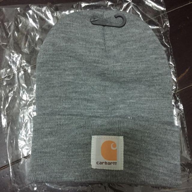 Carhartt正版毛帽(灰色)