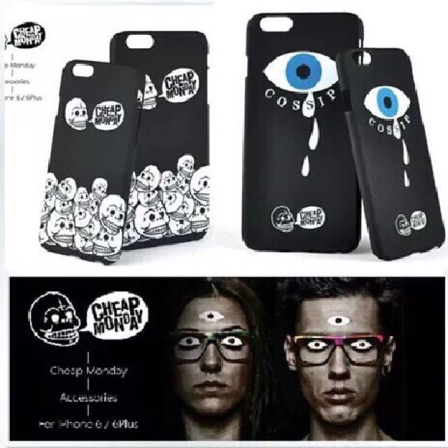 I6 5.5手機殼(一個眼睛的)