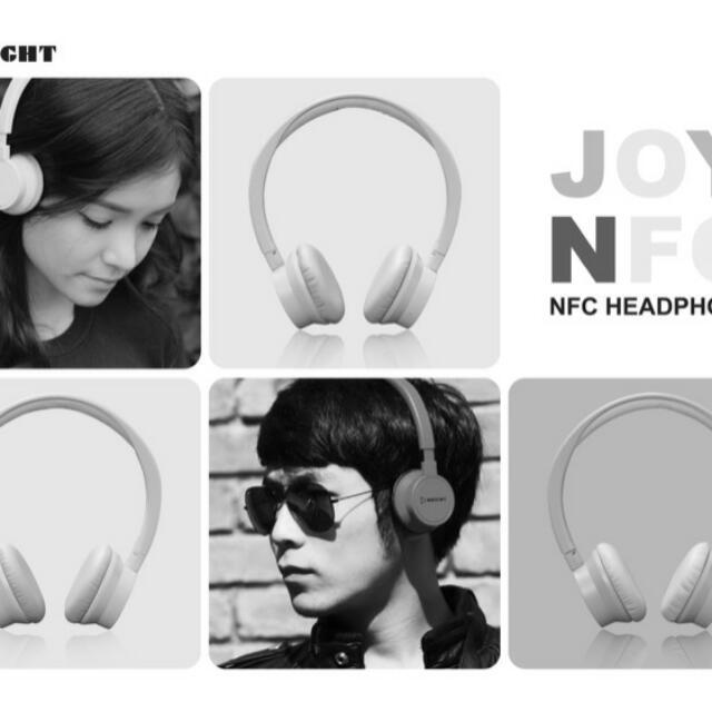 Joy H100 全新時尚藍芽耳機 (Tiffany藍)