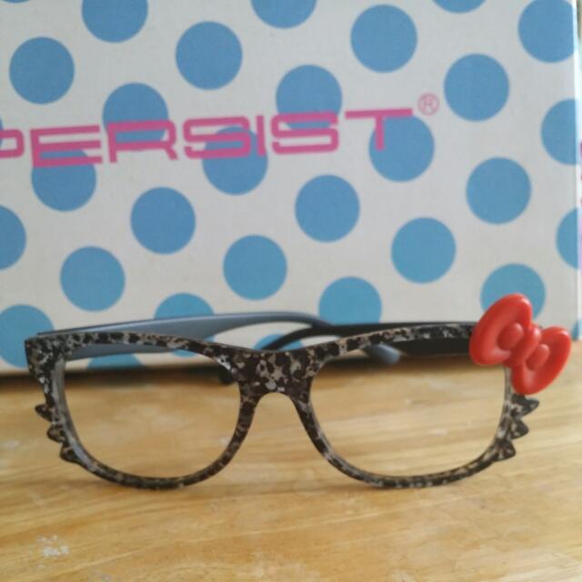 👓Kitty粗框眼鏡👓 🎀全新
