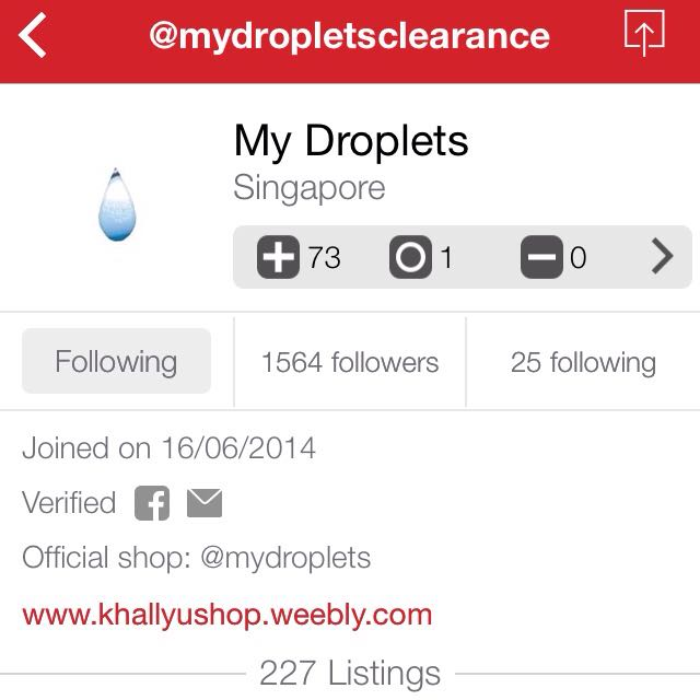 Previous Account