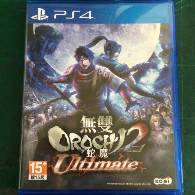 PS4-無雙蛇魔2 Ultimate (繁中)