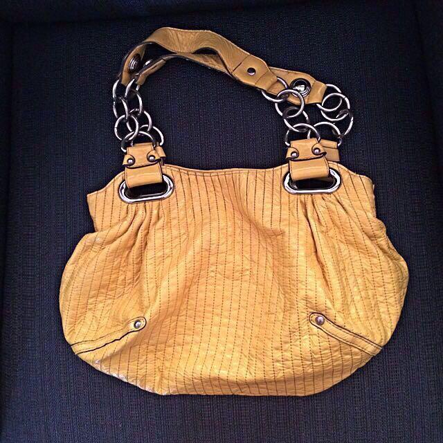 Rampage Yellow Handbag