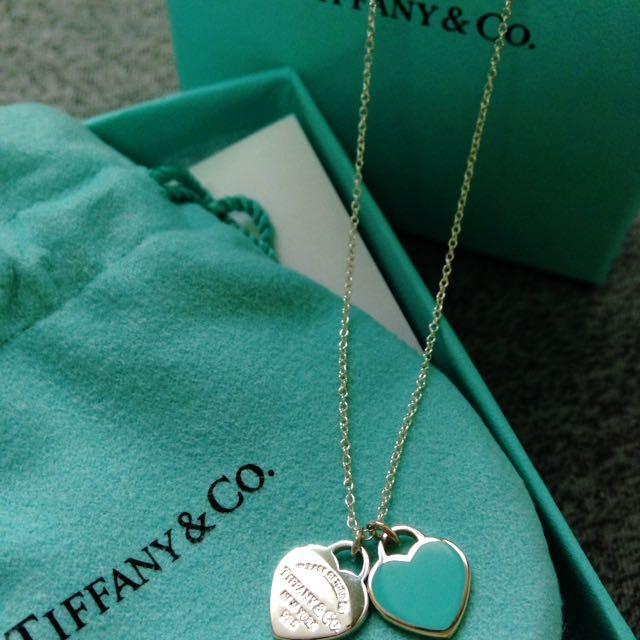 Tiffany純銀925項鍊