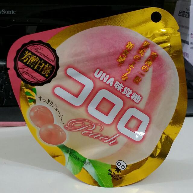 UHA味覺糖-芳醇白桃口味