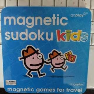 magnetic sudoku game