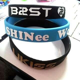 Kpop wrist bands