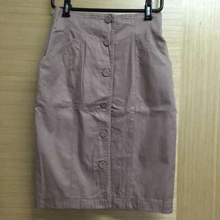 High Waist Vintage Skirt From Japan