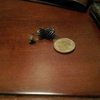 可愛心型耳環