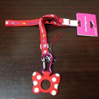 東京迪士尼米妮保特瓶套環背帶~好想要喔😍❤️