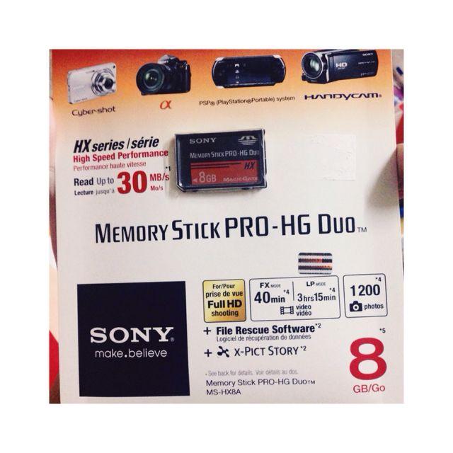記憶卡8G SONY(代朋友po