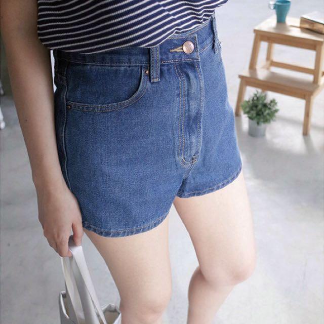 (全新)中腰牛仔短褲
