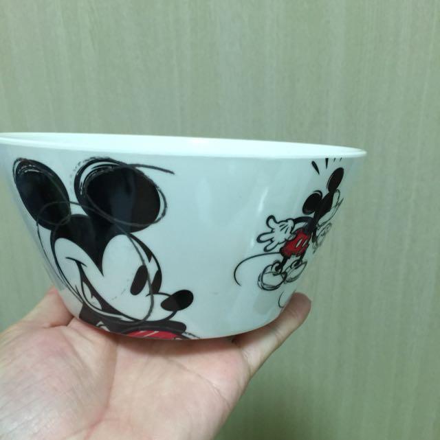 香港迪士尼 米奇美耐皿碗