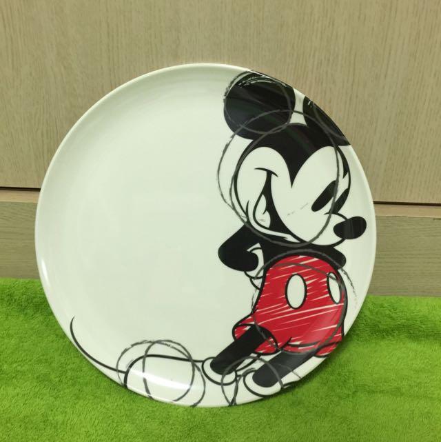 香港迪士尼 米奇美耐皿 盤子