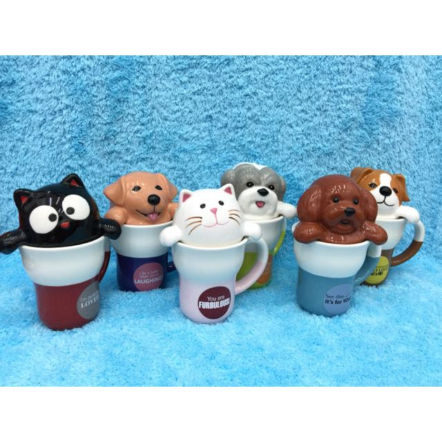 造型馬克杯 收藏 擺飾 寵物 狗 貓