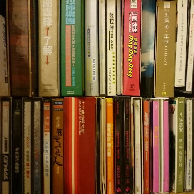 非常多的cd