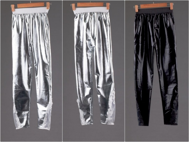 Legging Import Latex Lace Beige Black Bangkok Korea Style Murah Women S Fashion On Carousell