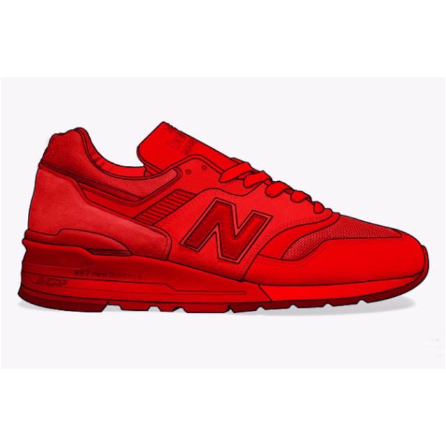 sports shoes 90e2b b0b67 New Balance 997 Red October, Bulletin Board, Preorders on ...