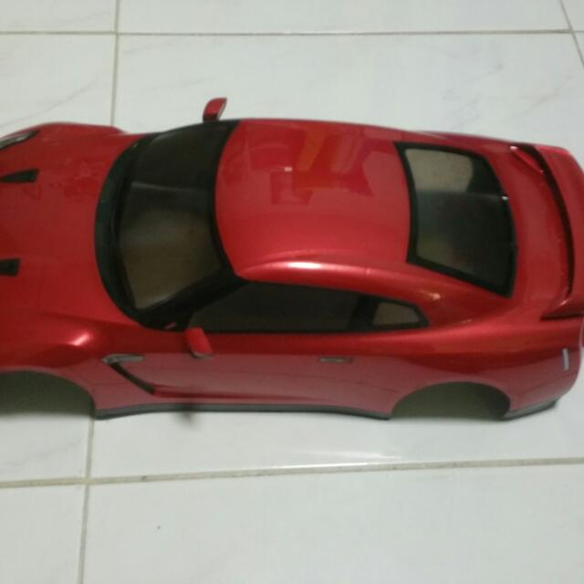 RC Drift Car Body Shell (1:10 Scale), Toys & Games on Carousell