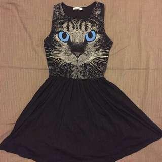 小貓兒洋裝