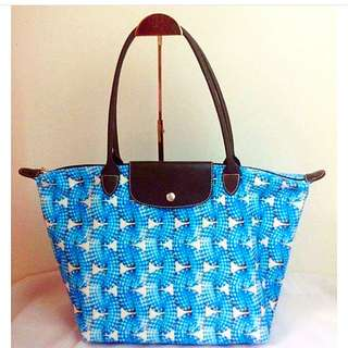 Longchamp Surf & The City LLH Bag Blue