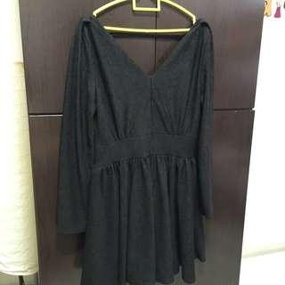 Black Dress ( Long Sleeves )