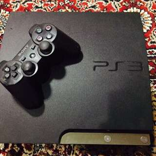 Black PS3 160GB With Box (Reserved)