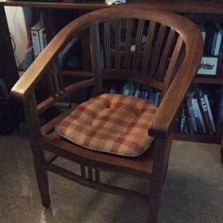 2x Teak Chairs