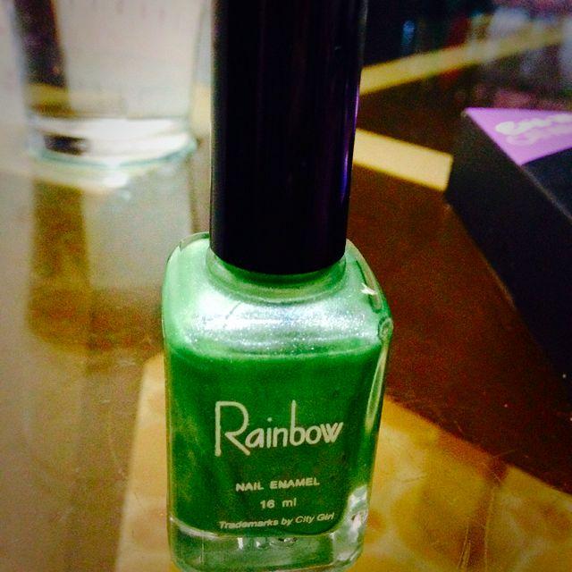 1 Piece Green Nail Polish