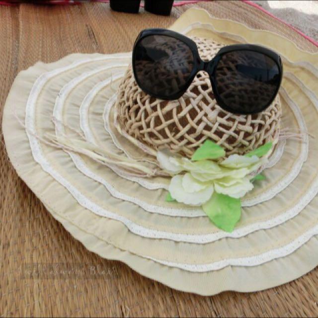 夏日編織草帽
