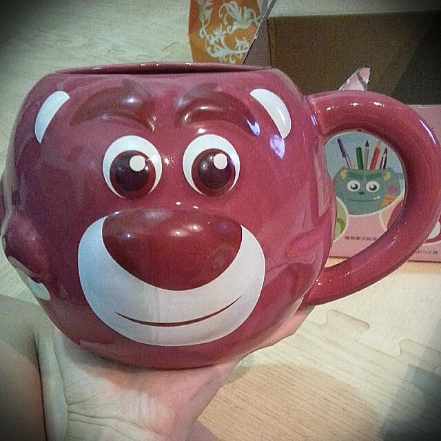 熊抱哥立體馬克杯