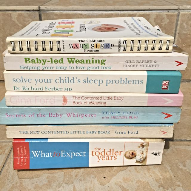 Books On Baby's Sleep/feeding