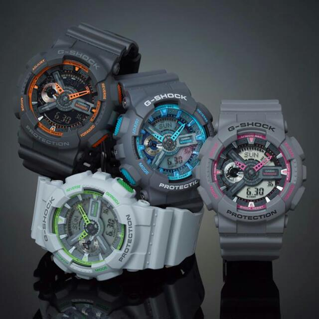 CASIO G-Shock Trendy Series (GA-110TS-XXX) 10a72fca49