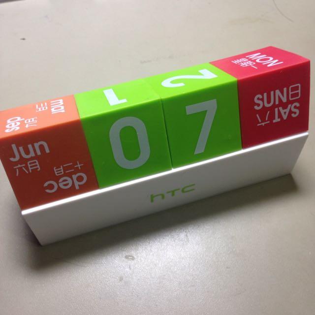 HTC積木日曆