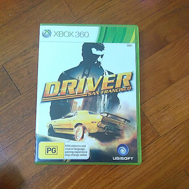 Xbox 360 Driver San Francisco Toys Games On Carousell