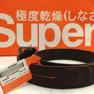 Superdry 極度乾燥 皮帶
