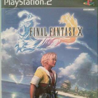 Genuine Final Fantasy X Game for PS2