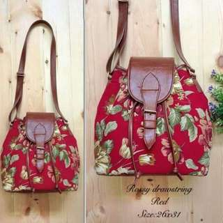 Ready Stock ■ Rossy Red Floral