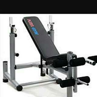 Price Reduced!!! Aibi Gym Deluxe Bench Press