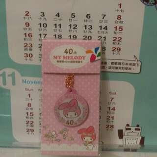 (保留)美樂蒂40th造型悠遊卡