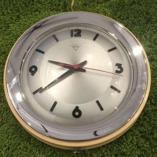 Vintage Diamond Wall Clock