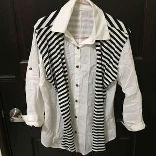 全新✨白色襯衫